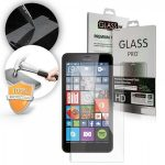 Microsoft Lumia 640 LCD Glass Screen kijelzővédő edzett üvegfólia (tempered glass) 9H keménységű (nem teljes kijelzős 2D sík üvegfólia)