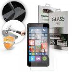 Microsoft Lumia 640 LCD Glass Screen kijelzővédő edzett üvegfólia (tempered glass) 9H keménységű (nem teljes kijelzős 2D sík üvegfólia), átlátszó