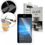 Microsoft Lumia 950 LCD Glass Screen kijelzővédő edzett üvegfólia (tempered glass) 9H keménységű (nem teljes kijelzős 2D sík üvegfólia), átlátszó