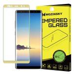 Wozinsky Samsung Galaxy Note 8 3D teljes kijelzős edzett üvegfólia (tempered glass) 9H keménységű, arany