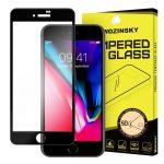 Wozinsky PRO+ Glass Screen 5D Full Glue teljes kijelzős edzett üvegfólia 9H keménységű, iPhone 7 Plus/8 Plus, fekete