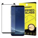 Wozinsky PRO+ Glass Screen 5D Full Glue teljes kijelzős edzett üvegfólia 9H keménységű, Samsung Galaxy S8 Plus, fekete