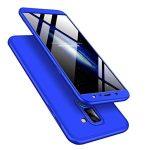 Full Body Case 360 Samsung Galaxy A6 Plus (2018), hátlap, tok, kék