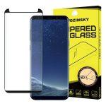 Wozinsky Samsung Galaxy S9 Plus 5D Full Glue teljes kijelzős edzett üvegfólia (tempered glass) 9H keménységű, fekete