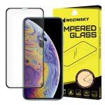 iPhone 11 Pro/iPhone X/Xs Wozinsky Glass Screen 5D Full Glue teljes kijelzős edzett üvegfólia (tempered glass), 9H keménységű, tokbarát, fekete