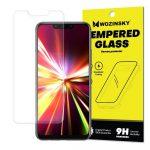 Wozinsky Huawei Mate 20 Lite kijelzővédő edzett üvegfólia (tempered glass) 9H keménységű (nem teljes kijelzős 2D sík üvegfólia)