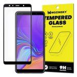 Wozinsky  Glass Screen 5D Full Glue Samsung Galaxy A7 (2018) A750 teljes kijelzős edzett üvegfólia, 9H keménységű, tokbarát, fekete
