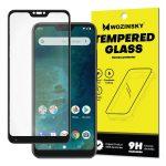 Wozinsky Xiaomi Mi A2 Lite/Redmi 6 Pro Glass Screen 5D Full Glue teljes kijelzős edzett üvegfólia (tempered glass), 9H keménységű, tokbarát, fekete
