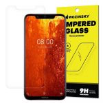 Wozinsky Nokia 8.1/X7 kijelzővédő edzett üvegfólia (tempered glass) 9H keménységű (nem teljes kijelzős 2D sík üvegfólia), átlátszó